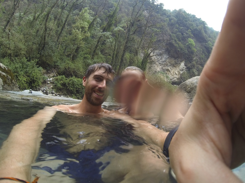 GoPro fail in the hot springs