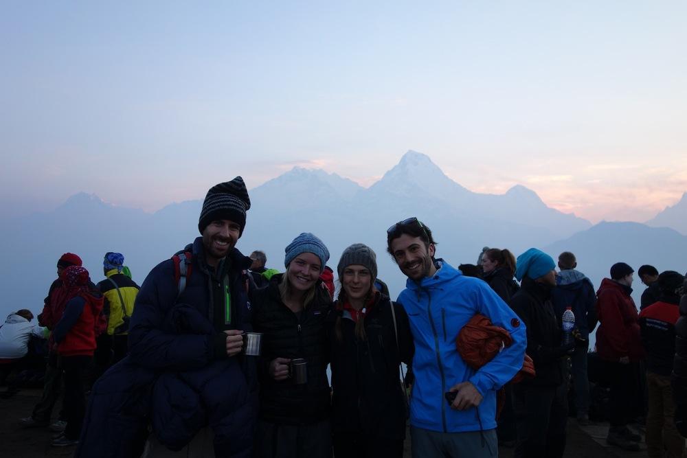 Our Swiss friends Jo and Debi