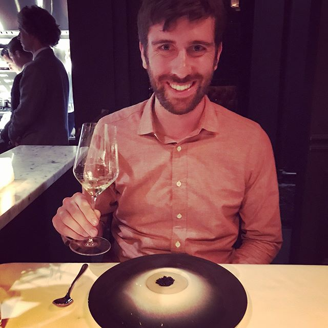 Celebrating this guy's 30 the way we celebrate most milestones: eating. There's no one with whom I'd rather tackle a 15 course tasting menu. Happy birthday husband of mine. 🎈