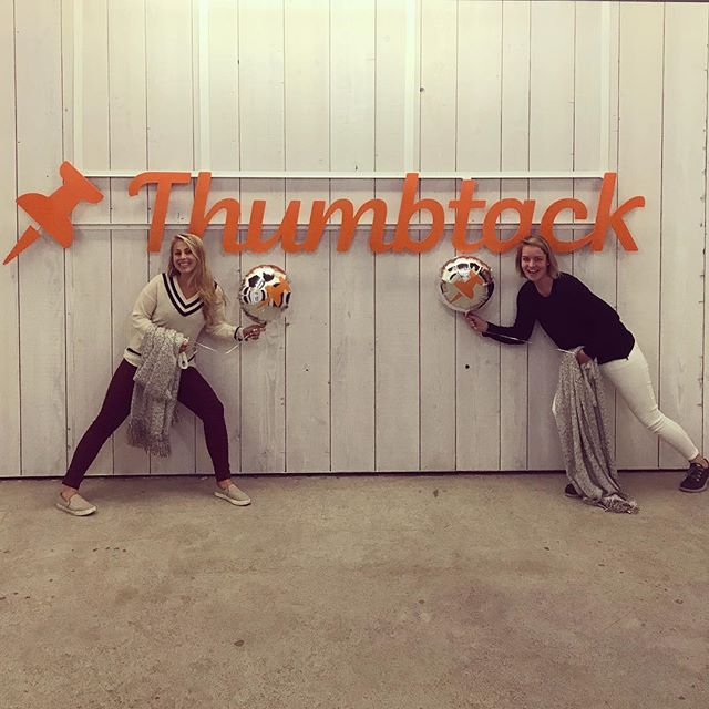 And on our #tackversary, we mastered the awkward team photo. Here's to many more years @jegerb0mb!