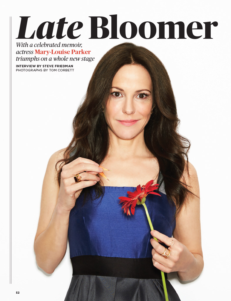 With a celebrated new memoir, actress Mary-Louise Parker is featured in this month's AARP Magazine rocking a ricorso Amalfi dress courtesy of Chalk Boutique. #fashion