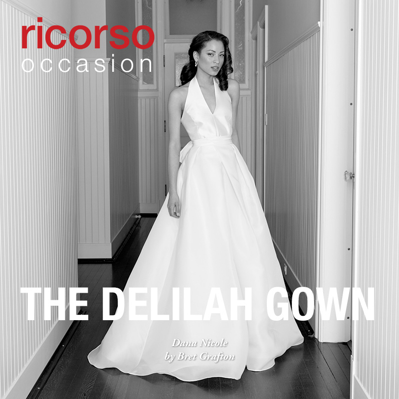The Delilah Gown. Presenting Dana Nicole in ricorso occasion 2016 by Bret Grafton.