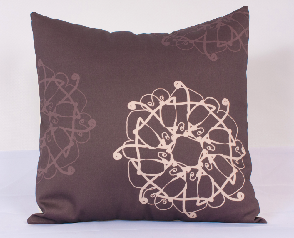 "Handmade Pillow Cover (Iron Gate, 16"")"