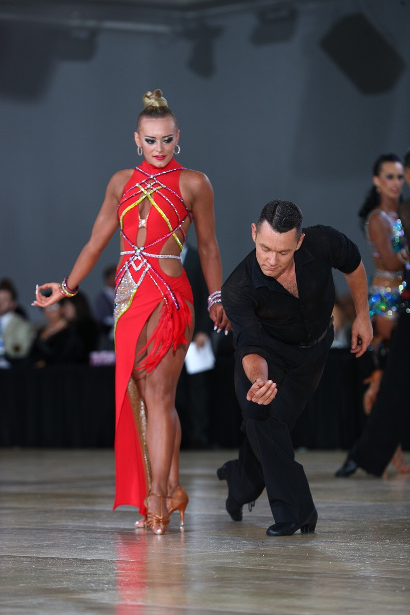 Dance Champions Natalie Crandall and Oleksiy Pigotskyy