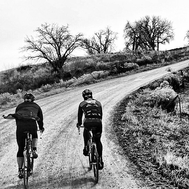 Today's mission: 40 miles of Colorado dirt. (at Boulder Roubaix)