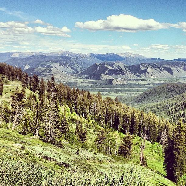 LIOTR Stage 7   Top of Teton Pass. Worth it.