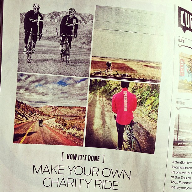 Bicycling Magazine So awesome - Leave It On The Road is in the July edition of @bicyclingmag!!