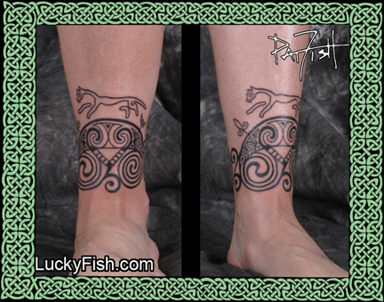 Custom Pictish Tattoo