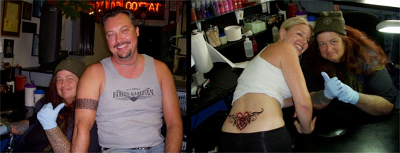 Happy Tattoo Clients!