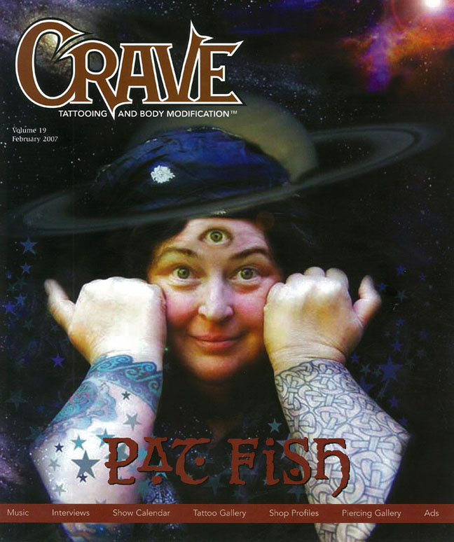 Crave Tattooing and Body Modification Magazine