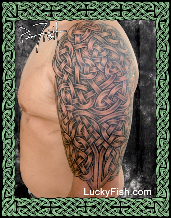 Bell Sleeve Celtic Tattoo