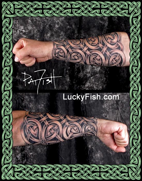 DarkLord Celtic Armor Tattoo