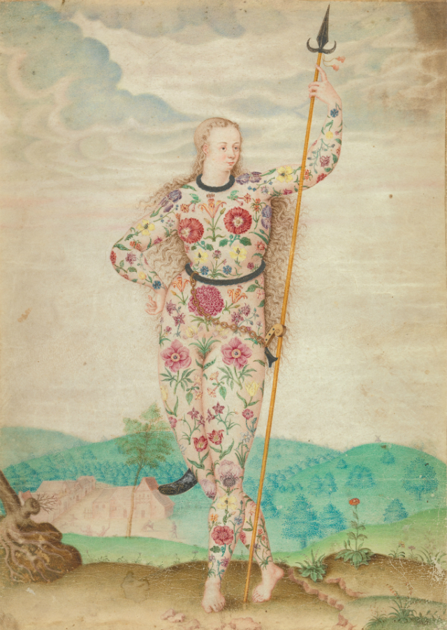A Young Daughter of the Picts, Jacques Le Moyne de Morgues, ca. 1585