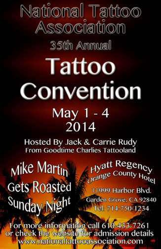 National Tattoo Association Poster