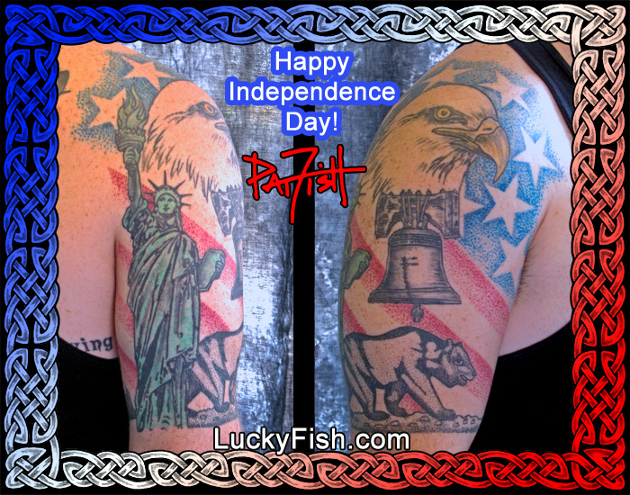 Patriotic Tattoos by Pat Fish