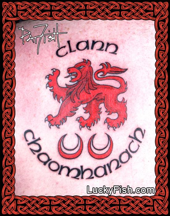 Clann Chaomhanach Insignia Tattoo by Pat Fish