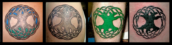 Celtic Tree of Life Tattoos by Pat FIsh