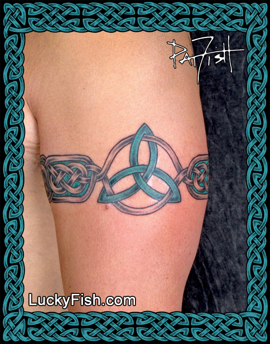 'Trinity Band' Celtic Tattoo by Pat Fish
