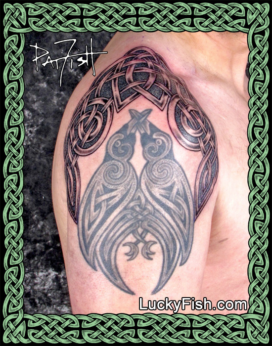 Celtic Tattoos by Pat Fish