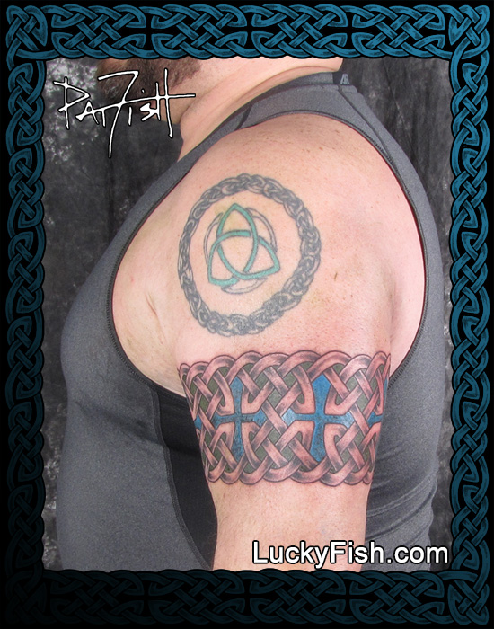 BAND tattoo ONLY by Pat Fish