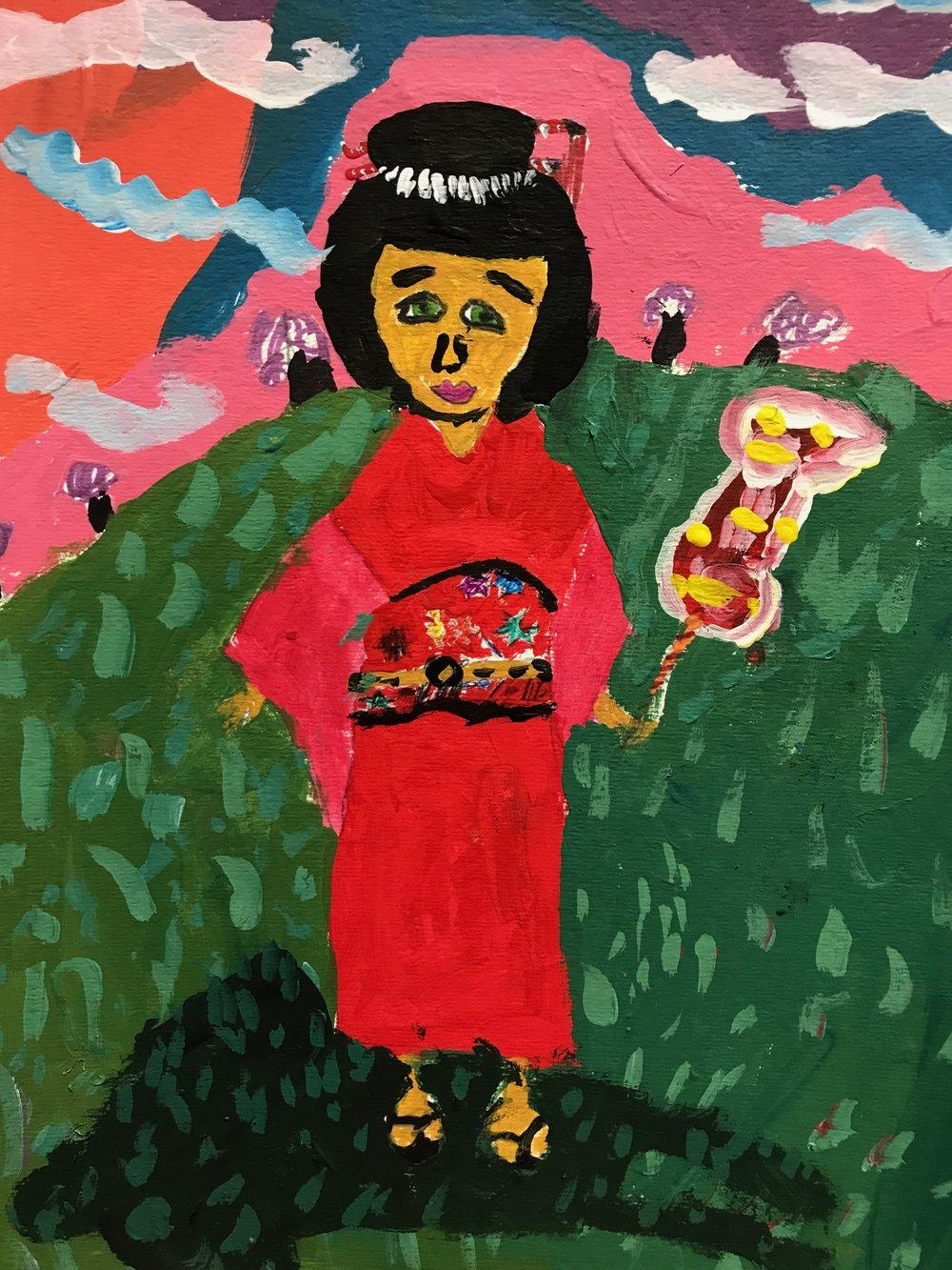 Natalia, age 7