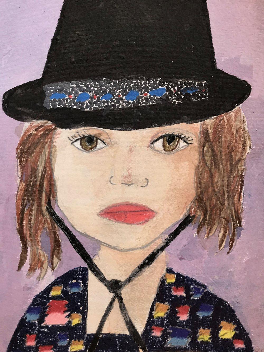 Grace, age 7