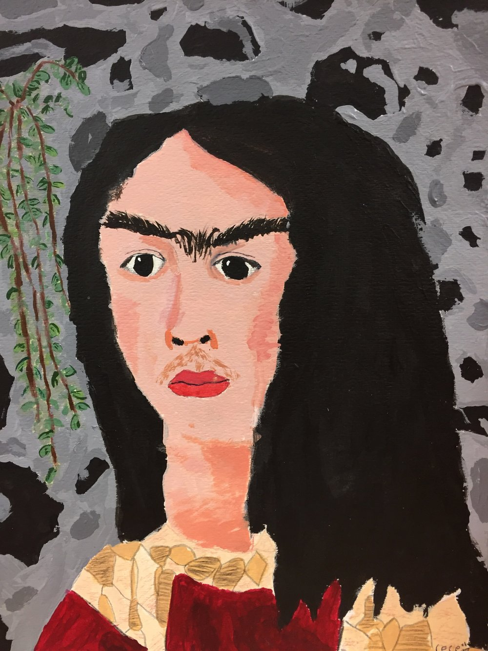 Cece, age 11 inspired by Frida Kahlo