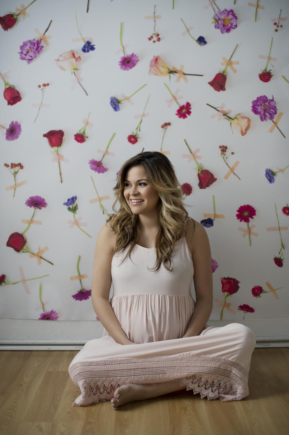 blush-dress-maternity-style
