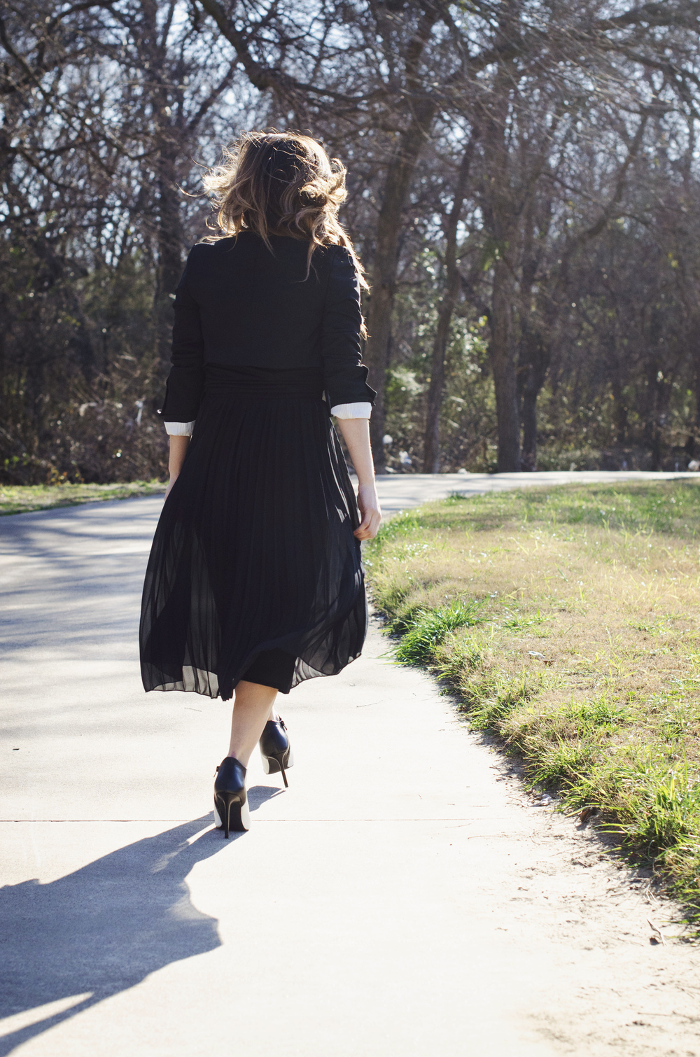 all-black-walking