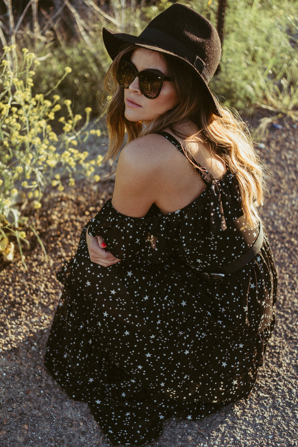 sunsets-and-stars maxi dress