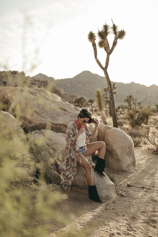 bohemian style in desert