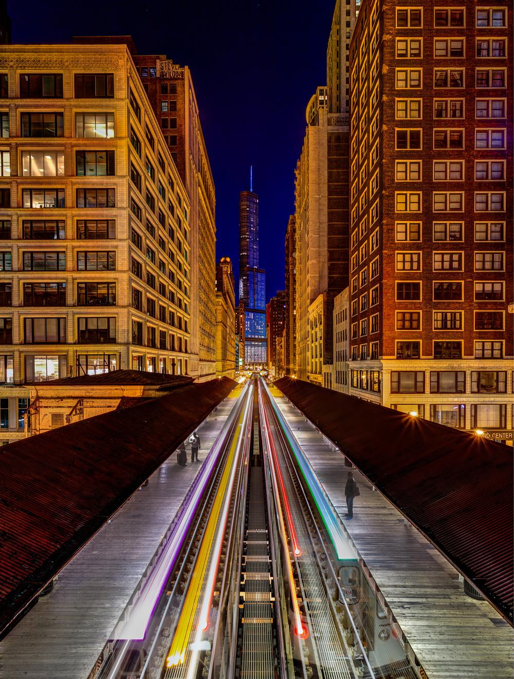 Above Chicago