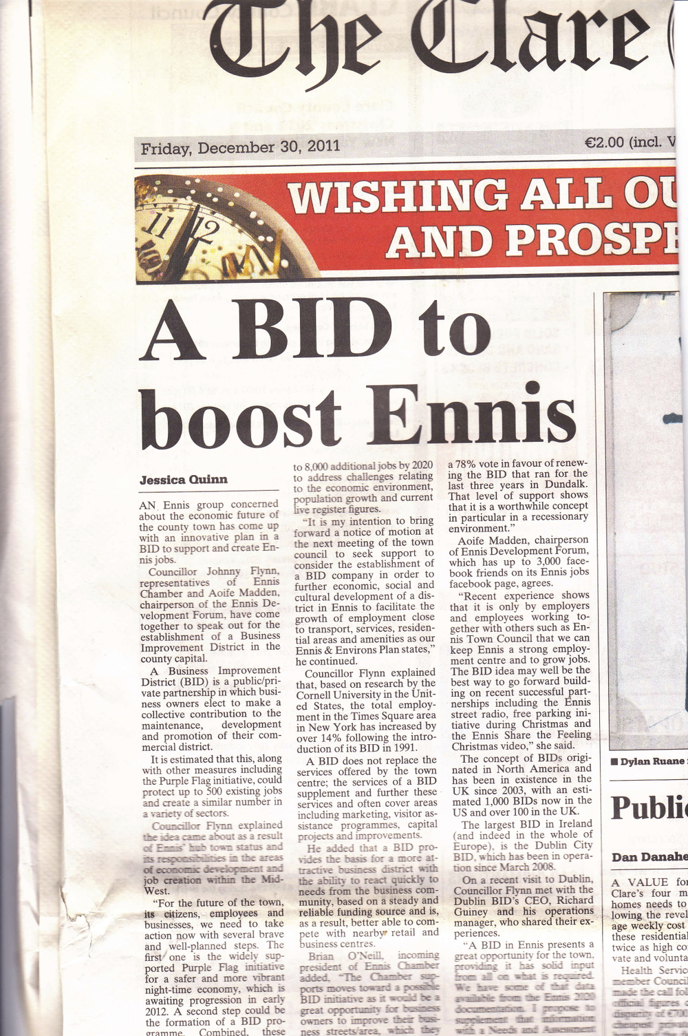 A BID to boost Ennis