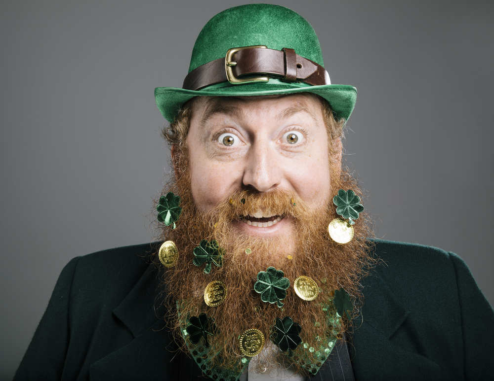 MARCH: St. Patrick's Day Beard