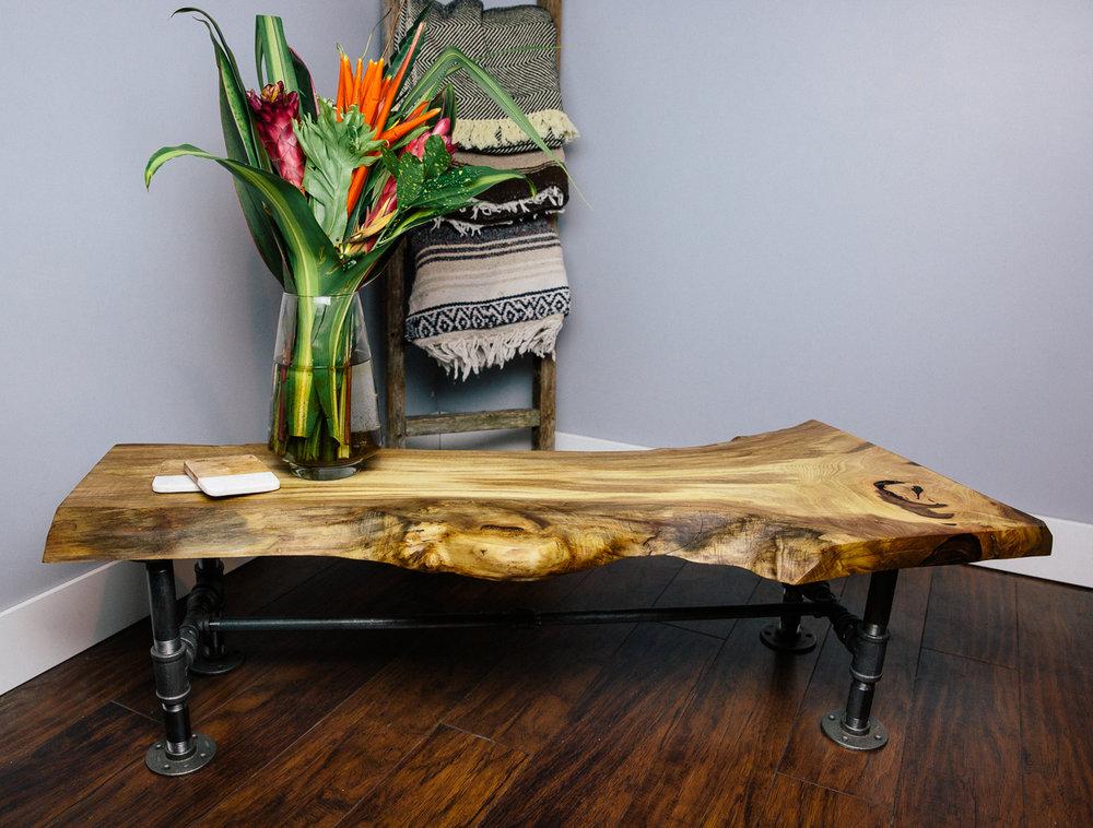 Couples Workshop Build a custom liveedge wood coffee table