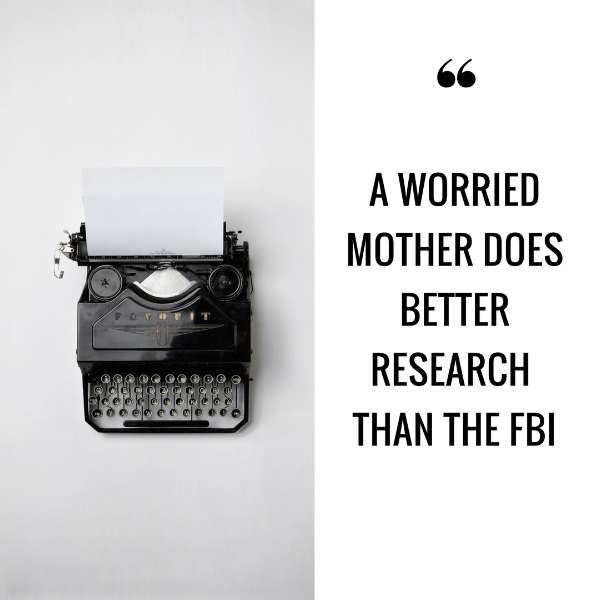 MOTHER'S DAY QUOTE FBI