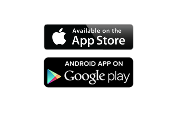 App store and google play badges | honkbark studios.