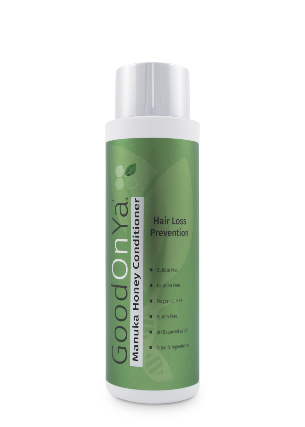Hair Loss Conditioner In order to effectively curb your hair loss, you need to stop using shampoos and conditioners that contain sulfates, fragrance, and other harmful ingredients. It is these common but damaging substances that clog your scalps' pores, causing rapid hair loss and even making it difficult for new hair to grow. GoodOnYa Hair Loss Prevention Shampoo and Conditioner contain vital and wholesome ingredients like Biotin, Teatree Oil, Willowbark, and more to keep your hair follicles clean and unclogged, thereby promoting healthy hair growth.