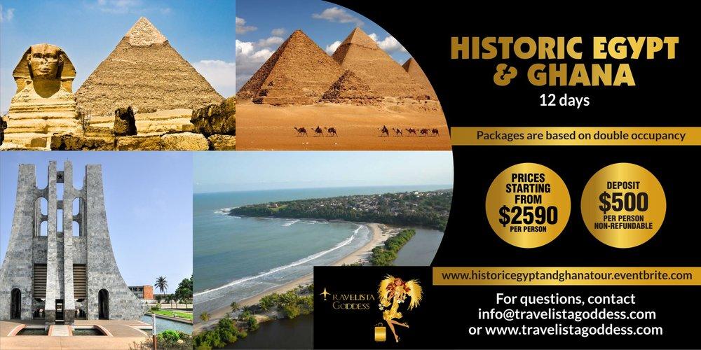 Featured Tour - To book visit    www.historicegyptandghanatour.eventbrite.com