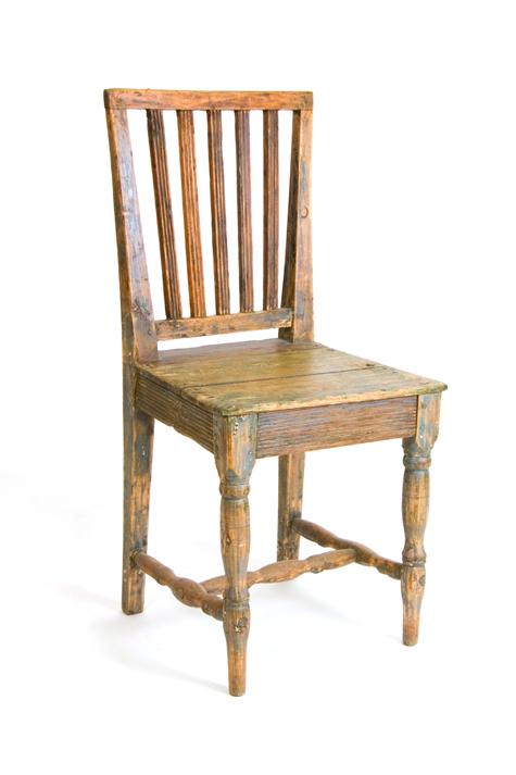 19th C. Swedish Farm Chair