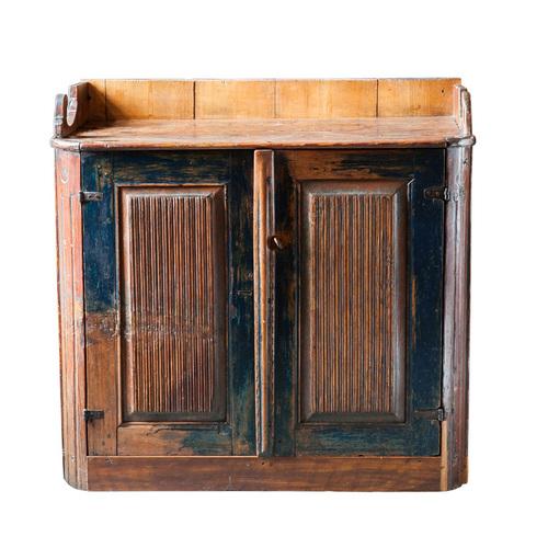 Blue Gustavian Buffet - Blue Gustavian Buffet — Swedish Reproduction Furniture, Swedish