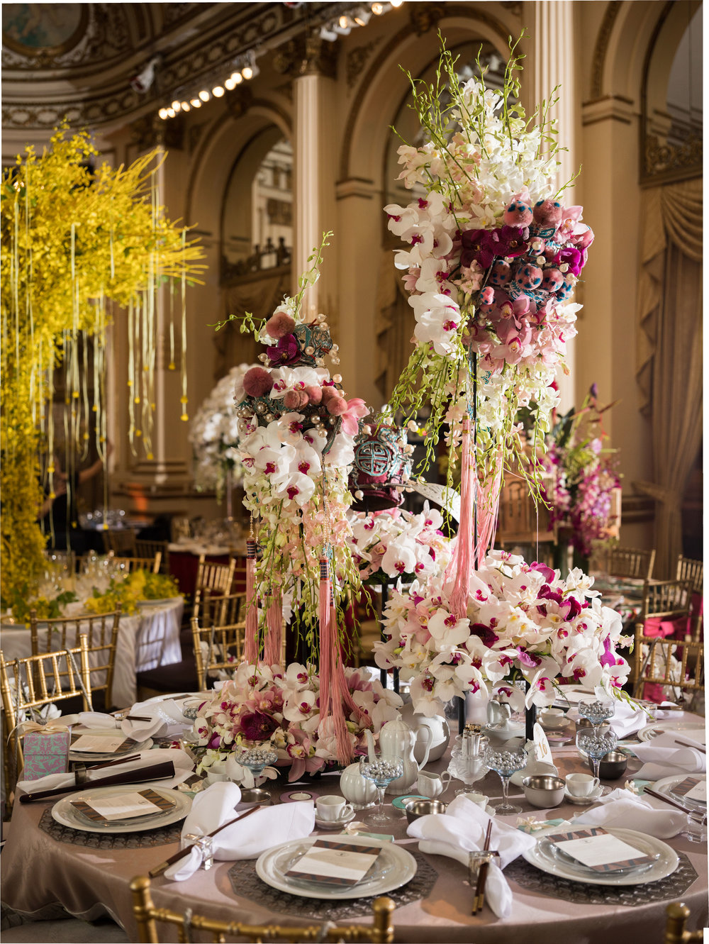 New York Botanical Gardens Orchid Dinner 2019
