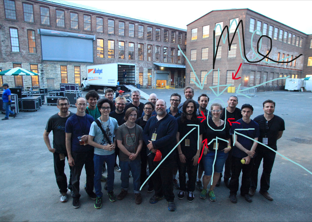 Check out this crew photo from Wilco's  Solid Sound  Festival documentary project in 2013.  While this was one of my all-time favorite projects (what's not to love – music, art, an amazing team), this is what our world looks like a lot of the time.  I'm it – woman…producer…taking care of the details.  Women Directors? DPs? Grip – Electrics? Sound…..that's a rarity in our market.  I can count on one hand the number of Keys I have worked with in over 18 years who are women…here in our nation's capital.   In 2016 I was producing a panel for SXSW with Paula Kerger and Geena Davis about Gender in Media and discovered that just 6% of directors (in Hollywood) were women (2014 data.)  The panel was canceled but my sense of purpose within our industry was ignited. How could it be that empowering women to creatively lead projects, compose shots, light a scene, engineer audio is an innovation?  It's time to change that.