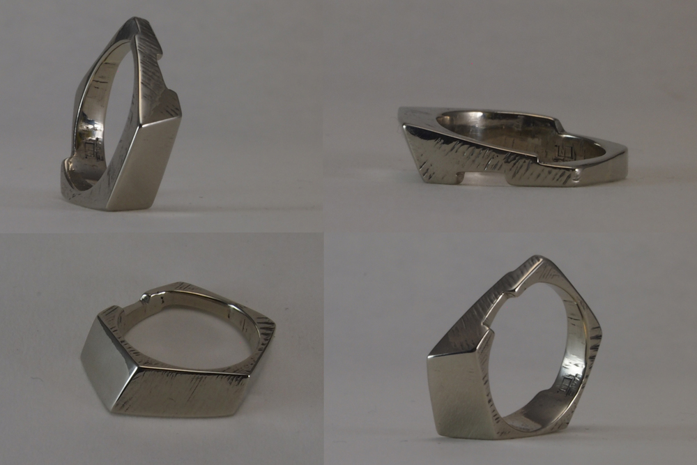 DGM wedding rings - small forms