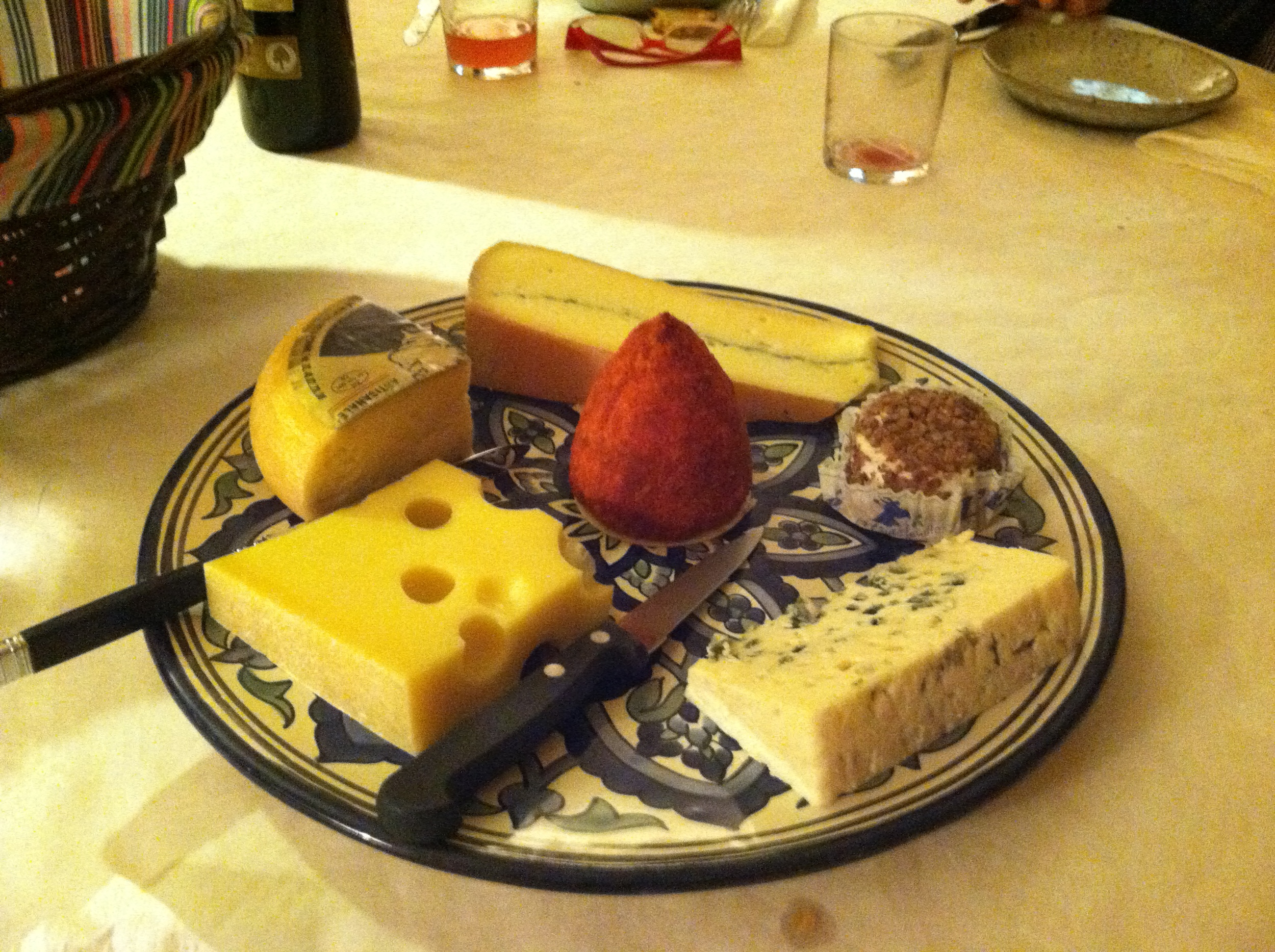Cheese plate from the heavens