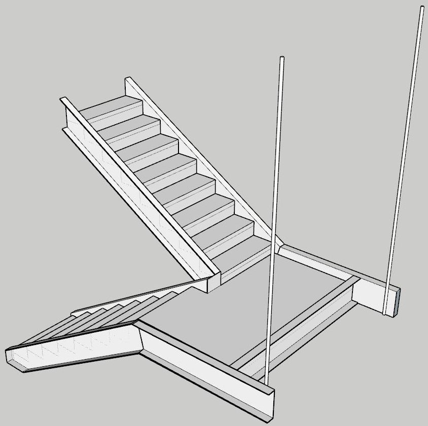 How Commercial Stairs Are Typically Designed