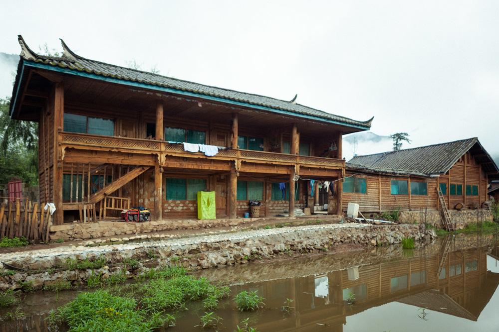 Host family home, Lijiazui.