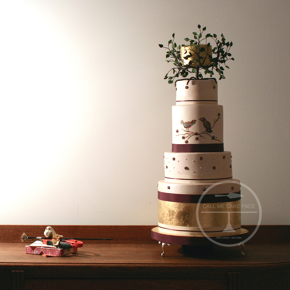 Sugar Tree Wedding Cake