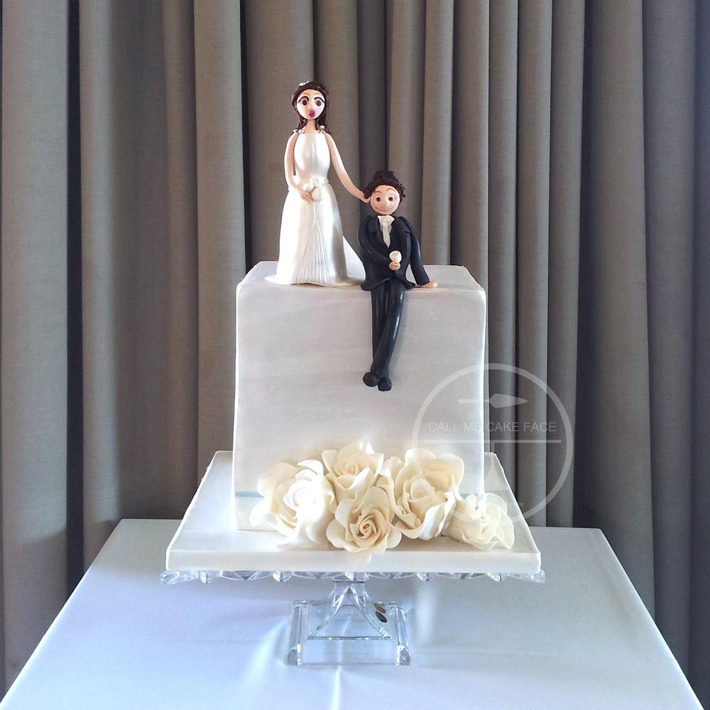 Cube Wedding Cake