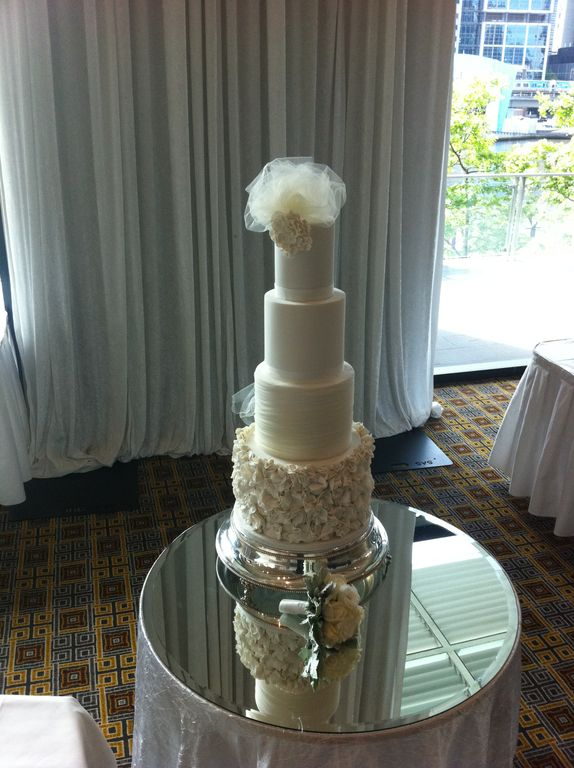 Soft White Wedding Cake